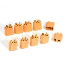 Mini 5 Pairs XT60 Male Female Bullet Connectors Plugs For RC Hobby Lipo Battery