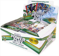 NRL 2014 RUGBY LEAGUE - Power Play Trading Cards ~ Sealed Box (24ct) #NEW