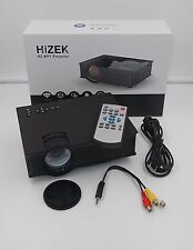 HiZEK Portable WiFi Projector 1200 Lumens LED Wireless Home Theater, HZ-MP1