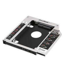 Laptop 12.7mm Universal Optical Bay SATA 2nd HDD SSD Hard Drive Adapter Caddy