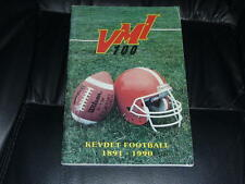 1990 VMI COLLEGE FOOTBALL MEDIA GUIDE EX BOX 37