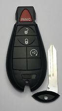2009-2012 OEM DODGE RAM REMOTE KEYLESS ENTRY FOBIK KEY w/ UNCUT BLANK