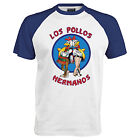 LOS POLLOS HERMANOS t shirt BREAKING BAD HEISENBERG BASE BALL T SHIRT