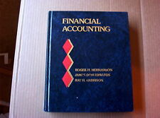 Financial Accounting by Hermanson Edwards Garrison (1981, Hardcover)