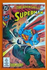 Adventure of Superman # 497 VF/NM Doomsday