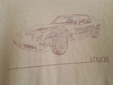 Small Combat Green Chunk Graphic T-Shirt, Pontiac Firebird Trans-Am Haynes Style