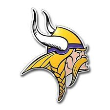 Minnesota Vikings Color Auto Emblem Car Decal Licensed NFL Football New Sticker