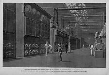 COLUMBIAN EXPOSITION THE CENTRAL POWER PLANT ANNEXED TO MACHINERY HALL BOILERS