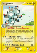 Magneton Rare Pokemon Card EX-Legend Maker 22/92