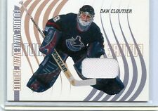 2002-03 IN THE GAME BAP BETWEEN THE PIPES DAN CLOUTIER FUTURE WAVE GAME JERSEY