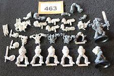 Juegos taller Warhammer 40k escuadrón de la muerte Guardia plaga Marines Caos ejército de metal