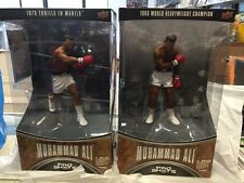 Upper Deck Pro Shots Series 1 Action Figure Muhammad Ali 1965 & 1975 Thrilla