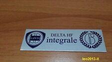 Lancia delta hf integrale 16v evoluzione badge stemma targhetta tunnel martini 6