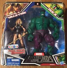 Marvel Legends Valkyrie & Hulk Action Figure Set 2010 Fans Choice Pack