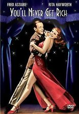 YOU'LL NEVER GET RICH DVD -LIKE NEW-FRED ASTAIRE, RITA HAYWORTH