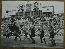 Photo Football Dynamo Moscou,URSS vers 1930,  25 x 35 cm