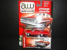 Auto World Ford Galaxie 500XL 1964 Red 64042C