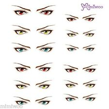 Obitsu 27cm Body 1/6 Size Dollfie Doll Eye Decal Sticker 17 (12 pairs)