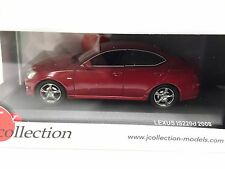 LEXUS IS 220d Vermillion Red 2008 IXO 1:43 DIECAST MODEL CAR JCL115