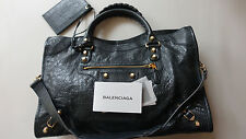 *Balenciaga* Anthracite GGH City Bag. $1985 + tax. Excellent!