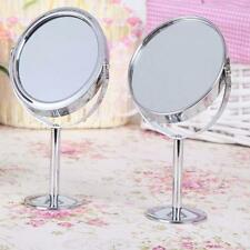 Maquillaje De Belleza Cosmético Espejo doble-cara Normal y Lupa Soporte IP