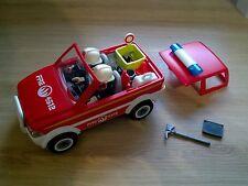 PLAYMOBIL 4822 - voiture de pompiers + un pompier supplémentaire