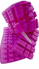 FUN PACK fdiym Gummy Bears Brick & Robot Molds Dropper for Candy or Ice Cubes