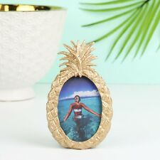 Sass and Belle Gold Pineapple Photo Frame On Trend Tropical Theme