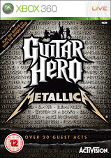 Guitar Hero: Metallica ~ Xbox 360 (en Perfectas Condiciones)