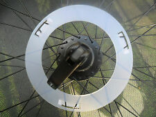 Bike Wheel Spoke Protector Guard Disc for 70mm Large Flange Hubs & 36 Spokes