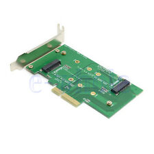 M.2 NGFF PCI-E LANE SSD to PCIE X4&3.0 to SATA Adapter Card For Samsung Xp941 HM