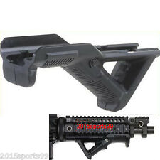 Hunting Angled Foregrip Hand Guard Front Grip for Picatinny Quad Rail Black #11