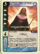 Call of Cthulhu LCG - 1x Abbess Allegria Di Biase #001 - Necronomicon Draft Pack