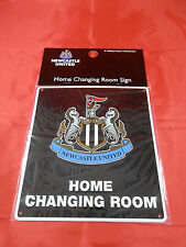 Newcastle United FC Metal ''Changing Room'' Sign - Official Merchandise
