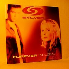 Cardsleeve Single cd SYLVER Forever In Love 2TR 2001 eurodance