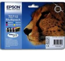 GENUINE EPSON INK CARTRIDGE T0711-T0714 ORIGINAL T0715