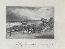 """A DE MAISONNETTE 1854 """"ST GERMAIN"""""""