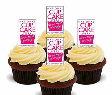 National Cupcake Week, Edible Cup Cake Toppers, Standup Fairy Decorations x 20