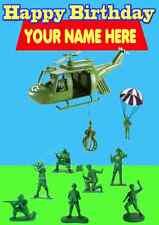 Soldados de juguete historia feliz cumpleaños A5 Tarjeta de felicitación de Personalizado PID729 niños hijo