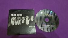 Spice Girls Too Much outer space girls press 1997 cd usato card sleeve Virgin