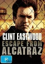 Escape From Alcatraz DVD BRAND NEW TOP 1000 MOVIES CLINT EASTWOOD TRUE STORY R4