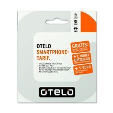 otelo Smartphone Sim Karte 5,00€ Startguthaben im Vodafone Netz