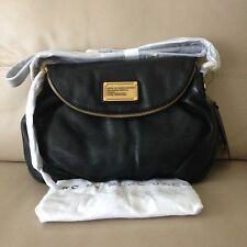 NWT $368 MARC BY MARC JACOBS Crossbody CLASSIC Q Natasha BLACK HANDBAG