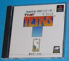 The Tetris - Sony Playstation - PS1 PSX - JAP Japan