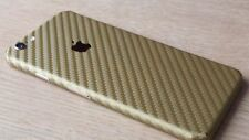 For Apple iPhone Skin Case Wrap Sticker Decal 3D Textured Carbon Fibre Protector