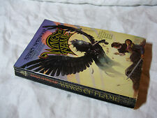 WINGS OF FLAME - Nancy Springer ~ 1986 - TOR Science Fiction Read Pb