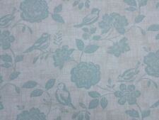 Bird Garden Duckegg Curtain Craft Upholstery Designer Fabric