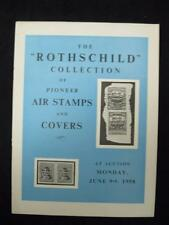 H R HARMER AUCTION CATALOGUE 1958 PIONEER AIR STAMPS AND COVERS