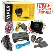 VIPER 3105V 3-CHANNEL 1-WAY CAR ALARM SECURITY KEYLESS ENTRY SYSTEM 2 REMOTES