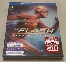 The Flash: Season 1 [Blu-ray + Digital HD Ultraviolet] - Brand New & Sealed !!